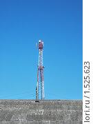 Сотовая вышка. Стоковое фото, фотограф Толкачева Мария / Фотобанк Лори