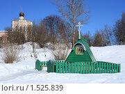 Купить «Святой источник в поселке Ознобишино Подольский район», эксклюзивное фото № 1525839, снято 4 марта 2010 г. (c) Яна Королёва / Фотобанк Лори