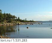 Купить «Соловецкие берега», фото № 1531283, снято 23 августа 2009 г. (c) Самойлова Екатерина / Фотобанк Лори