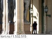 Купить «Атланты. Санкт-Петербург», эксклюзивное фото № 1532515, снято 6 марта 2010 г. (c) Александр Алексеев / Фотобанк Лори