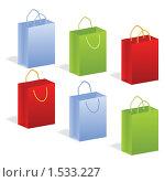 Купить «Подарочные пакеты», иллюстрация № 1533227 (c) Наталия Каупонен / Фотобанк Лори