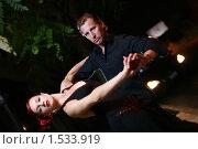Танцующая пара. Стоковое фото, фотограф Константин Сутягин / Фотобанк Лори