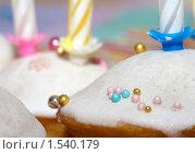 Купить «Праздничный кекс», фото № 1540179, снято 20 января 2010 г. (c) SummeRain / Фотобанк Лори