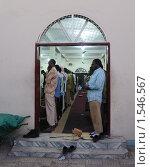 Купить «Вечерняя молитва в мечети Харгейсы», эксклюзивное фото № 1546567, снято 8 января 2010 г. (c) Free Wind / Фотобанк Лори