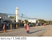 Купить «Улица Харгейсы», фото № 1546655, снято 8 января 2010 г. (c) Free Wind / Фотобанк Лори