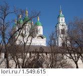 Купить «Астраханский кремль», фото № 1549615, снято 26 февраля 2010 г. (c) Золотовская Любовь / Фотобанк Лори
