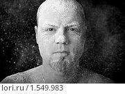 Мужчина в муке. Стоковое фото, фотограф Багрова Алеся / Фотобанк Лори