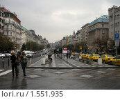 Купить «Прага. Вацлавская площадь», фото № 1551935, снято 17 сентября 2009 г. (c) Анна Белова / Фотобанк Лори
