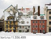 Купить «Рига. Старый город. Центр», фото № 1556499, снято 22 февраля 2010 г. (c) Ирина Завьялова / Фотобанк Лори