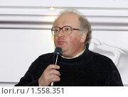 Купить «Павел Любимцев театральный деятель, телеведущий», фото № 1558351, снято 14 марта 2010 г. (c) Владимир Ременец / Фотобанк Лори