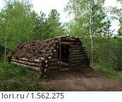 Купить «Древняя хижина», фото № 1562275, снято 16 мая 2009 г. (c) Золотовская Любовь / Фотобанк Лори