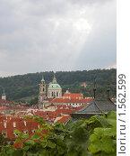 Купить «Вид Праги», фото № 1562599, снято 15 сентября 2009 г. (c) Анна Белова / Фотобанк Лори