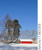 Зимний пейзаж Карелии. Стоковое фото, фотограф Jumbo / Фотобанк Лори