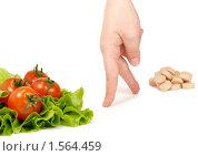 Выбор в пользу здорового питания. Стоковое фото, фотограф Алешечкина Елена / Фотобанк Лори