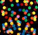 Абстрактные праздничные огни - фон, фото № 1567243, снято 16 января 2010 г. (c) Михаил Коханчиков / Фотобанк Лори
