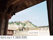Купить «Крепость в Джайпуре», эксклюзивное фото № 1569595, снято 10 апреля 2020 г. (c) Free Wind / Фотобанк Лори
