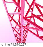 Купить «Металлоконструкции», иллюстрация № 1570227 (c) Андрей Соколов / Фотобанк Лори