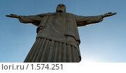 Купить «Статуя Христа на Корковадос, Бразилия, Рио де Жанейро», фото № 1574251, снято 16 июля 2018 г. (c) Сергей Терлецкий / Фотобанк Лори