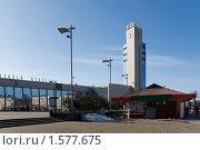 Купить «Рига. Привокзальная площадь», фото № 1577675, снято 20 марта 2010 г. (c) Андрей Лабутин / Фотобанк Лори