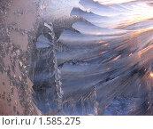 Купить «Морозный узор», фото № 1585275, снято 15 декабря 2009 г. (c) Марина Чиркова / Фотобанк Лори