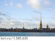 Петропавловская крепость. Санкт-Петербург. (2007 год). Стоковое фото, фотограф Катыкин Сергей / Фотобанк Лори