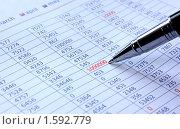 Купить «Таблица с цифрами», фото № 1592779, снято 28 марта 2010 г. (c) Екатерина Тарасенкова / Фотобанк Лори