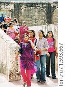 Купить «Девушки из Джайпура», эксклюзивное фото № 1593667, снято 5 марта 2020 г. (c) Free Wind / Фотобанк Лори