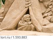 Купить «Фигуры из песка», фото № 1593883, снято 31 июля 2008 г. (c) Parmenov Pavel / Фотобанк Лори