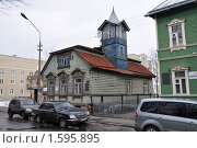 Дом Мельникова в  г. Ломоносов (2010 год). Редакционное фото, фотограф Вячеслав Иванов / Фотобанк Лори
