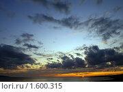 Купить «Закат на Баренцевом море», фото № 1600315, снято 4 августа 2009 г. (c) Охотникова Екатерина *Фототуристы* / Фотобанк Лори