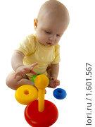 Младенец 6-7 месяцев. Стоковое фото, фотограф Вдовенко Галина / Фотобанк Лори