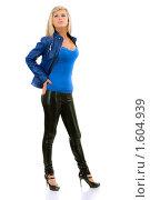 Купить «Портрет красивой блондинки», фото № 1604939, снято 20 марта 2010 г. (c) BestPhotoStudio / Фотобанк Лори