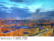 Купить «Октод за парами ТЭЦ», фото № 1605735, снято 5 марта 2010 г. (c) Kremchik / Фотобанк Лори