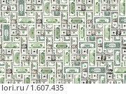 Купить «Фон из долларов», фото № 1607435, снято 23 марта 2010 г. (c) Андрей Лавренов / Фотобанк Лори