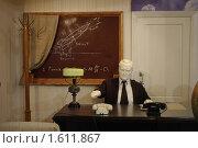Купить «Макет кабинета академика Королева», фото № 1611867, снято 27 марта 2010 г. (c) Вадим Закревский / Фотобанк Лори