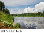 Купить «Река Вятка», эксклюзивное фото № 1611947, снято 18 июля 2009 г. (c) Ольга Визави / Фотобанк Лори