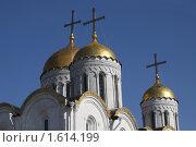 Купить «Владимир. Фрагмент Успенского собора», фото № 1614199, снято 28 марта 2010 г. (c) Gagara / Фотобанк Лори