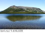 Купить «Отражение. Гольцовое озеро. Хибины», фото № 1616039, снято 1 августа 2009 г. (c) Охотникова Екатерина *Фототуристы* / Фотобанк Лори