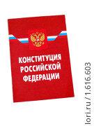Купить «Конституция Российской Федерации», фото № 1616603, снято 3 апреля 2010 г. (c) Глазков Владимир / Фотобанк Лори
