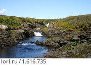 Купить «Речушка на полуострове Средний», фото № 1616735, снято 4 августа 2009 г. (c) Охотникова Екатерина *Фототуристы* / Фотобанк Лори