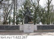 Купить «Памятник Баяну г. Трубчевск Брянская обл.», фото № 1622267, снято 11 апреля 2010 г. (c) Александр Шилин / Фотобанк Лори