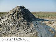 Купить «Вулканические кратеры, грязевые вулканы», фото № 1626455, снято 13 апреля 2010 г. (c) Королевский Василий Федорович / Фотобанк Лори