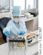 Купить «Лабораторный анализ крови», фото № 1627987, снято 6 апреля 2010 г. (c) Александр Подшивалов / Фотобанк Лори