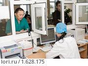Купить «Регистратура», фото № 1628175, снято 9 апреля 2010 г. (c) Александр Подшивалов / Фотобанк Лори