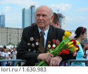 Купить «Девятого мая на Поклонной Горе в Парке Победы. Москва», эксклюзивное фото № 1630983, снято 9 мая 2009 г. (c) lana1501 / Фотобанк Лори