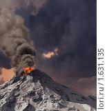 Купить «Извержение вулкана», иллюстрация № 1631135 (c) Виктор Застольский / Фотобанк Лори