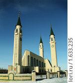 Купить «Нижнекамская мечеть», фото № 1633235, снято 11 февраля 2010 г. (c) Газизов Ильнар / Фотобанк Лори