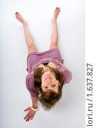 Купить «Смешная беременная», эксклюзивное фото № 1637827, снято 16 октября 2009 г. (c) Куликова Вероника / Фотобанк Лори