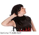 Красивая брюнетка. Стоковое фото, фотограф Светлана Широкова / Фотобанк Лори