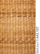 Купить «Текстура плетеной корзины», фото № 1643107, снято 10 ноября 2009 г. (c) Losevsky Pavel / Фотобанк Лори